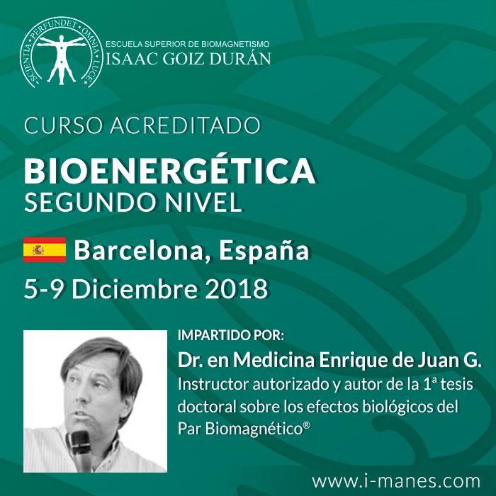 Curso Biomagnetismo Médico 2dor Nivel - Barcelona 2018